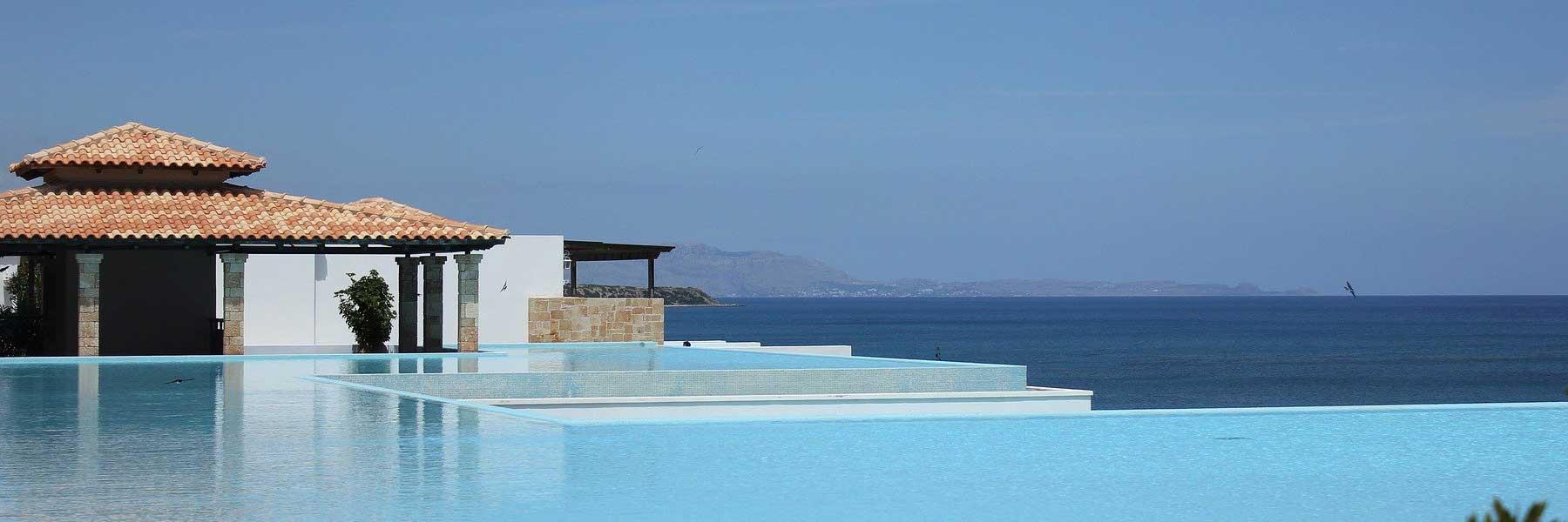 Immobilie und Pool auf Mallorca