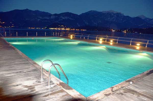 Salzwasser Pool auf Mallorca