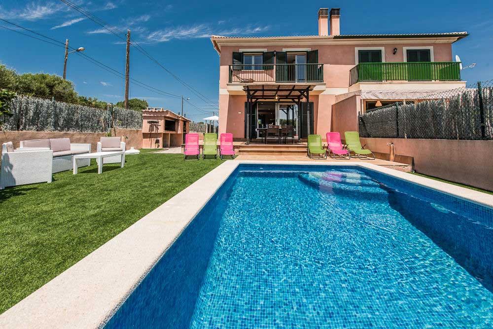 Das Doppelhaus auf Mallorca