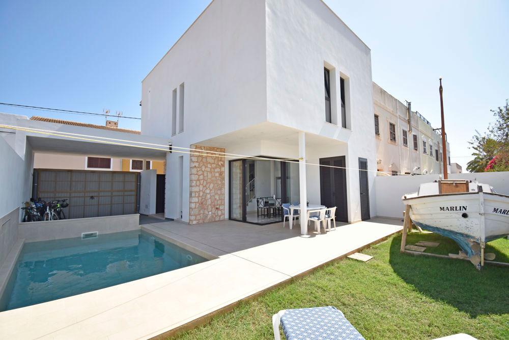 Das Stadthaus auf Mallorca