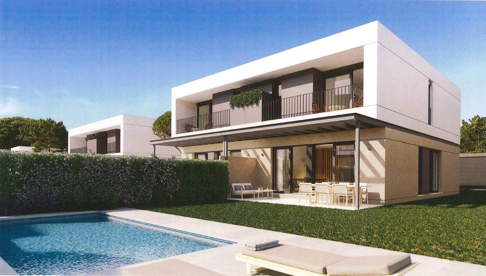 Neubau Doppelhäuser mit Garten und Pool